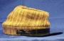 C.S. Varigated (tiger striped) Enlisted Man's Kepi