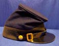 side view of M & G hospital steward cap