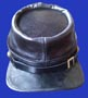 leather kepi