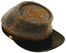 C.S. Officer's Wool Kepi with Leather Bound Visor