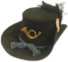 m.1858 or 1861 Hardee Hat (Enlisted or Officer's Models)